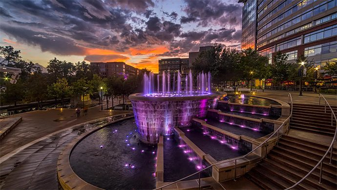 The Woodlands Fountain