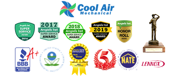 Cool Air Mechanical Awards